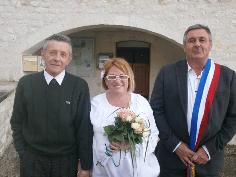Read more about the article Поздравляем с бракосочетанием! Счастья Жан-Клоду и Надежде!