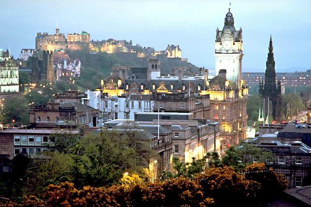 Шотландия, Эдинбург. Личные впечатления.